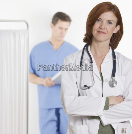 doctor physician medic medical practicioner woman