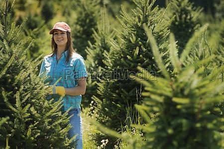 frau umwelt weiblich baum landwirtschaft ackerbau