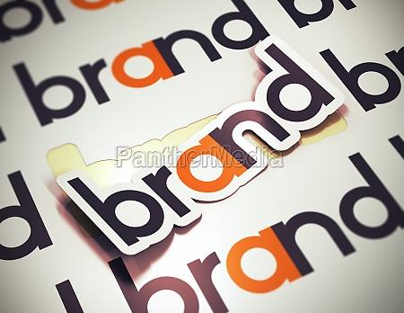 brand name company identity