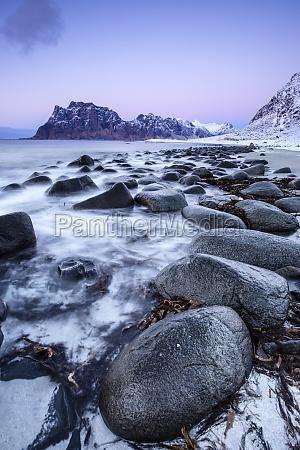 coastline in lofoten