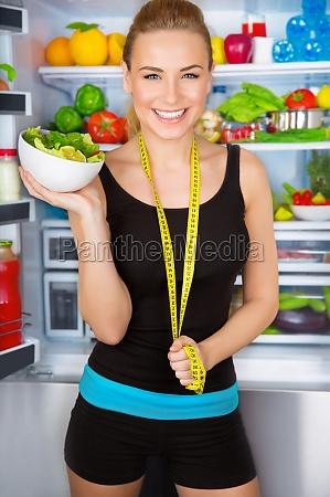 gesunde ernaehrung konzept