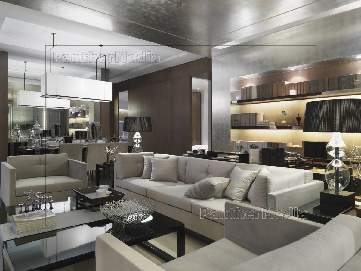 moderner wohnraum - Stockfoto - #11319615 - Bildagentur PantherMedia