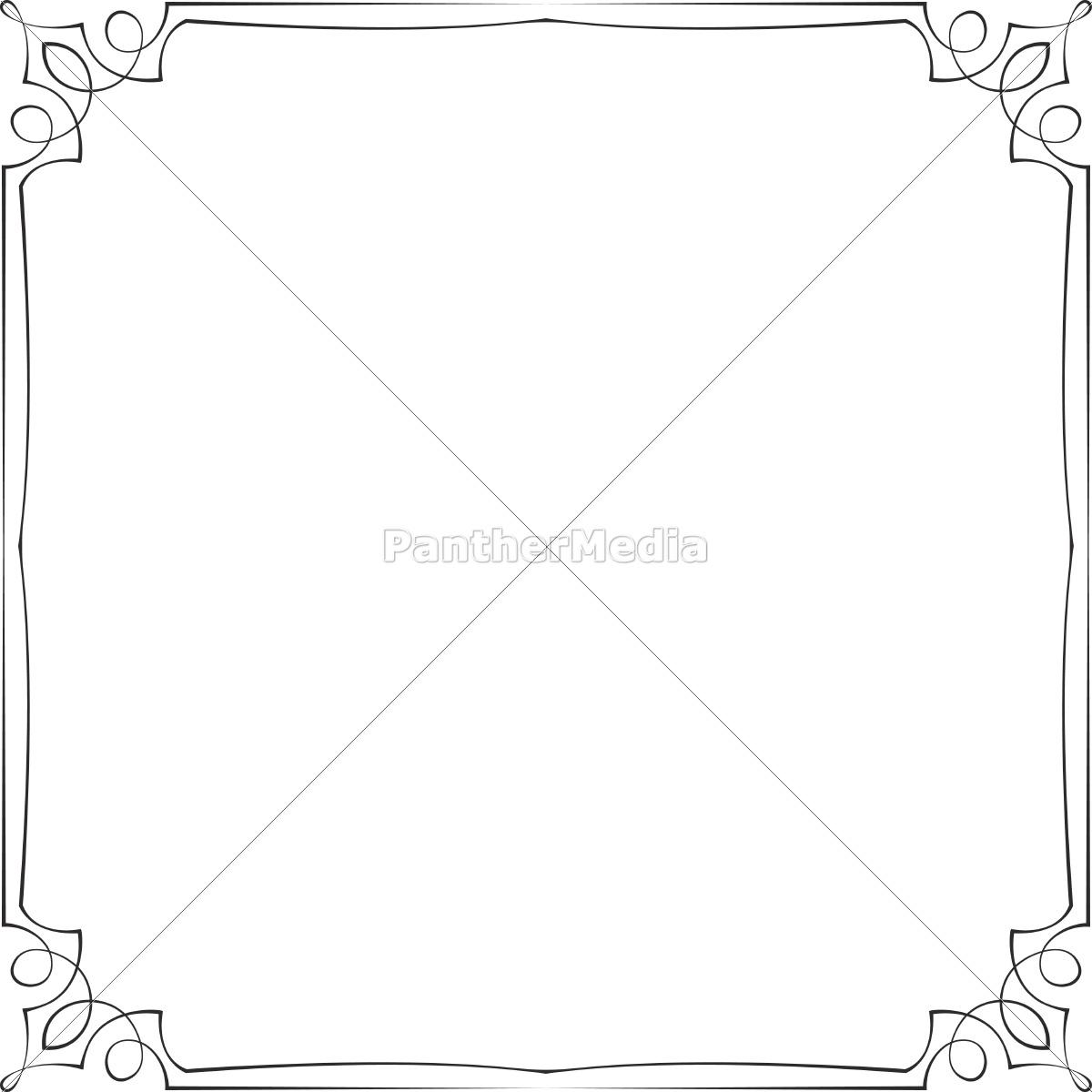 weinlese-vektor-rahmen - Lizenzfreies Bild - #11322365 - Bildagentur ...