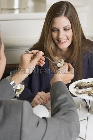 frau, restaurant, menschen, leute, personen, mensch - 11360983
