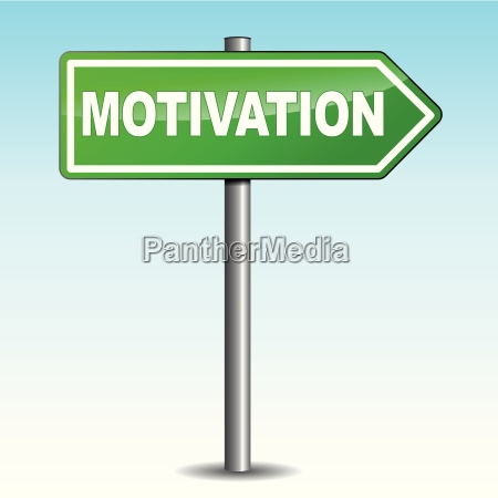 motivation arrow sign
