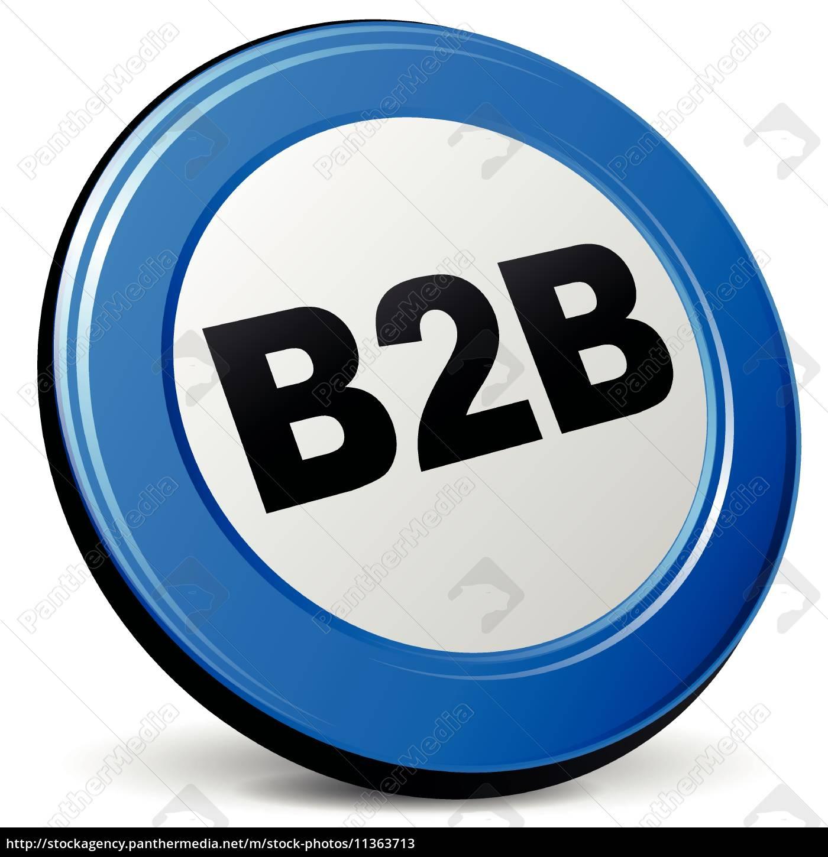 vector, 3d, b2b, symbol - 11363713
