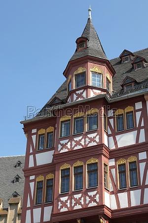 historisches fachwerkhaus in der altstadt von
