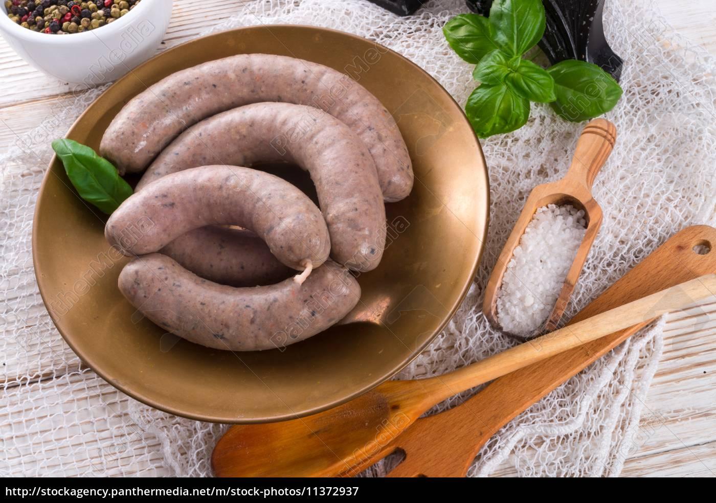 home-made, sausage - 11372937