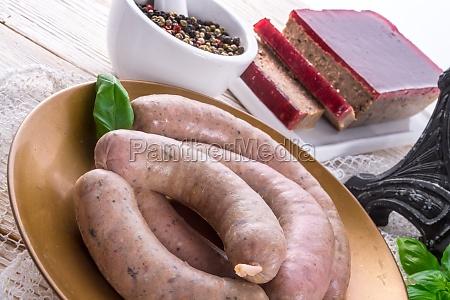 home made sausage
