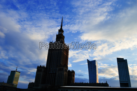 palace of culture and science in