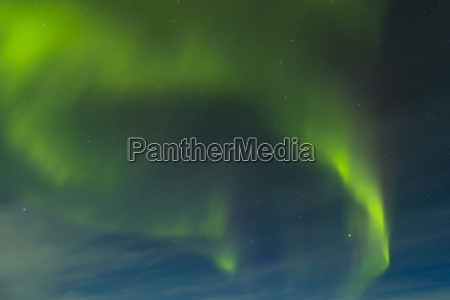 polarlicht aurora borealis in finnland