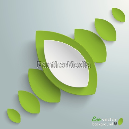 green leaves background line