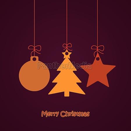 nur christmas card flitter