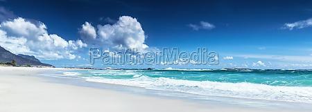 panorama of a beach landscape