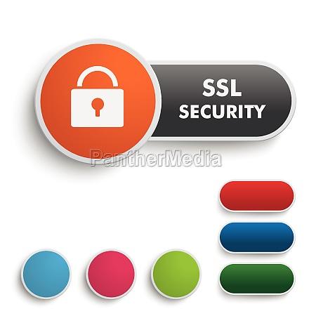 ssl security black orange piad