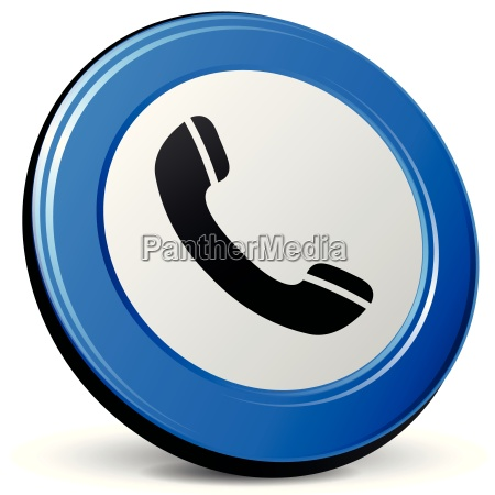 vector phone icon 3d