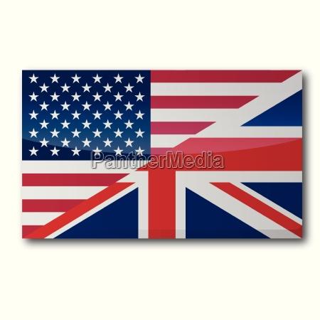 flagge mit UEbersetzung in englisch und