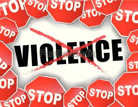 gewalt stoppen