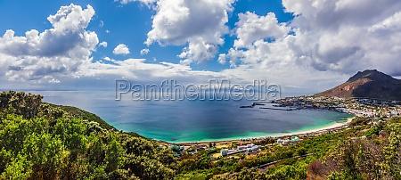 panorama blick von kapstadt