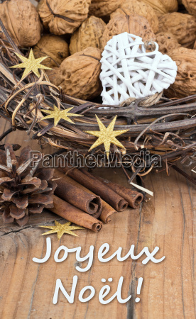 french text lettering christmas merry christmas