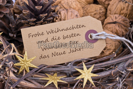 german text lettering christmas happy new