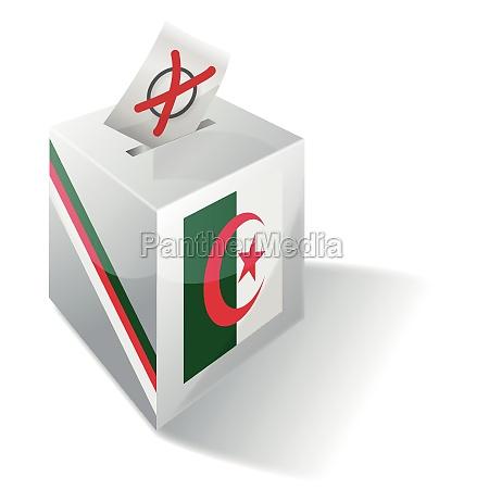 wahlbox algerien