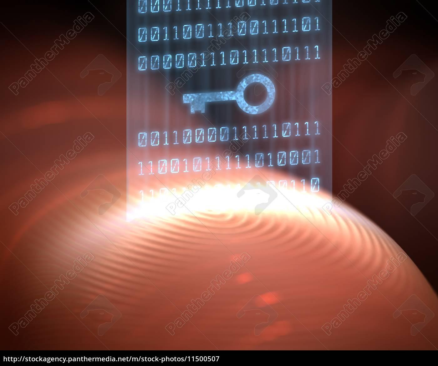 fingerabdruck-sicherheits-digital - 11500507