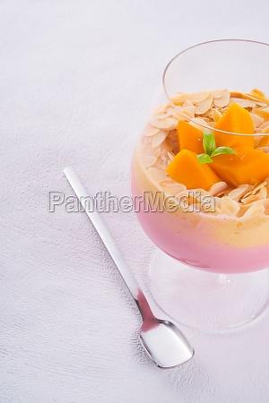 mango fruit cocktail