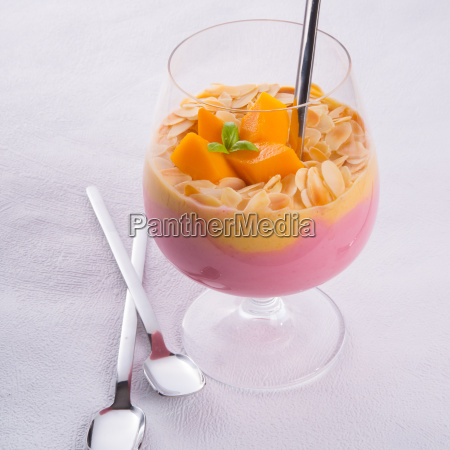 mango fruit cocktail