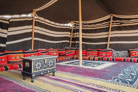zelt desert camp oman