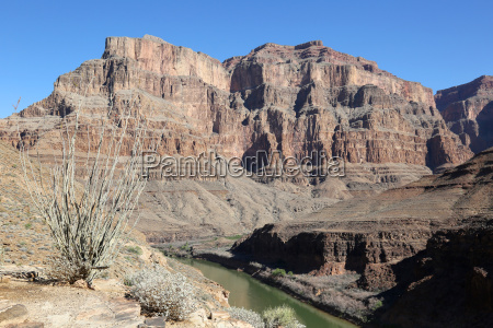 grand canyon mit colorado river