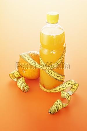 orange apfelsine pomeranze getraenke trinken trinkend