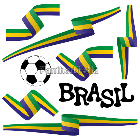 collection brasil icons and marketing