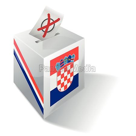 wahlbox kroatien