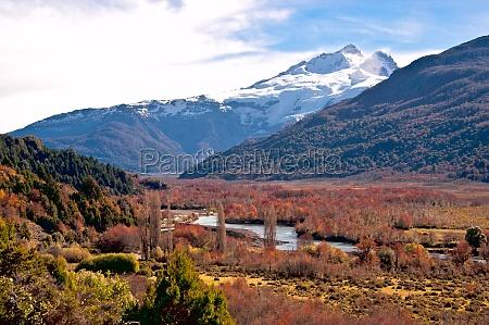 tronador volcano border between argentina and