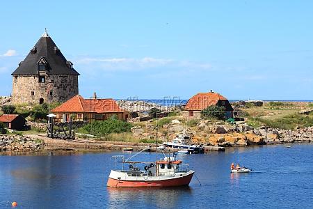 fort christianso insel bornholm daenemark