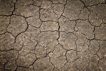 rissige erde trockene erde textur