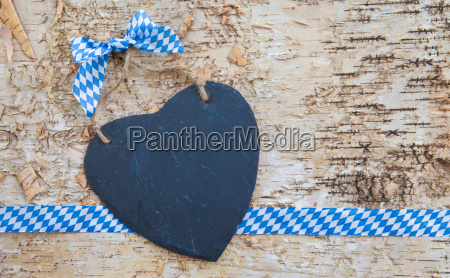 rustic background with heart