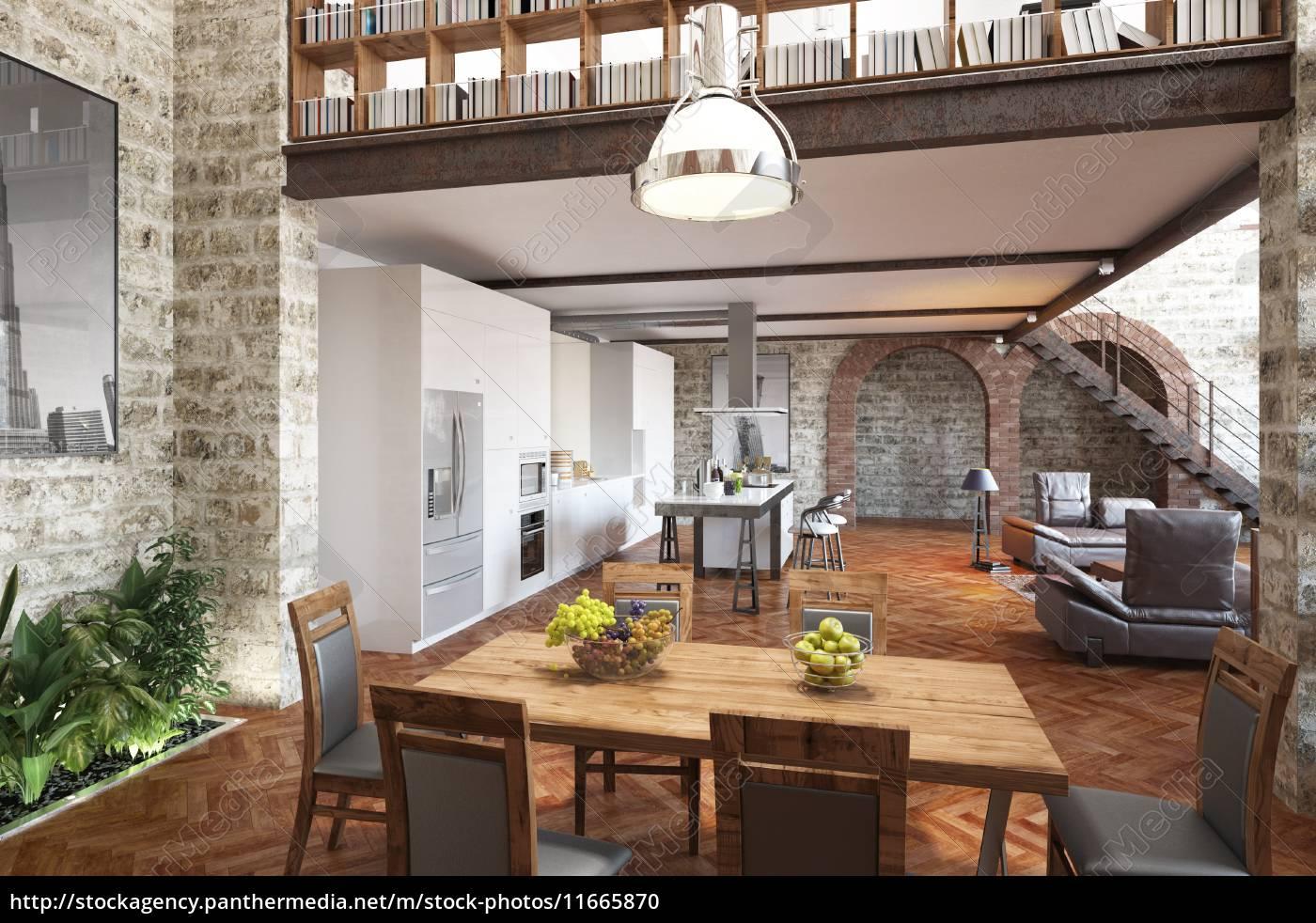 Stunning ess und wohnzimmer modern photos for Moderne wohnzimmer