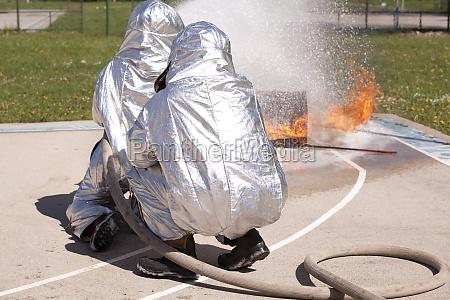 firefighter training