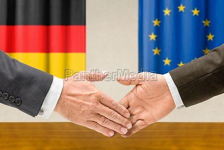 representatives of germany and the eu