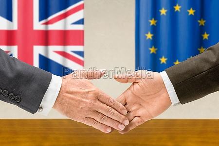 uk and eu representatives reach out