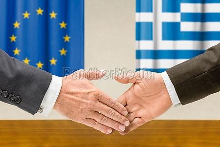 representatives of the eu and greece