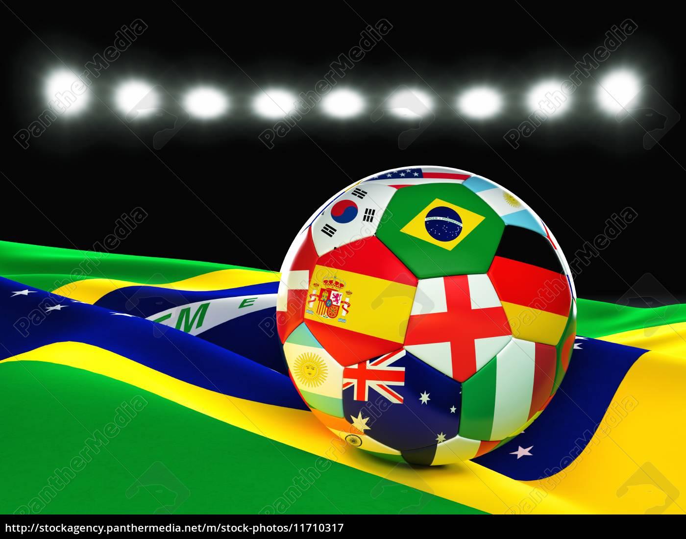 brasilien, fußball - 11710317