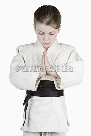 junge judo black belt
