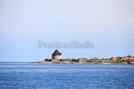 fort christiansoe insel bornholm daenemark