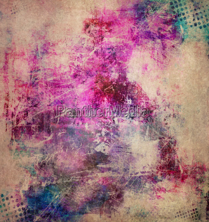abstract textures circles raster