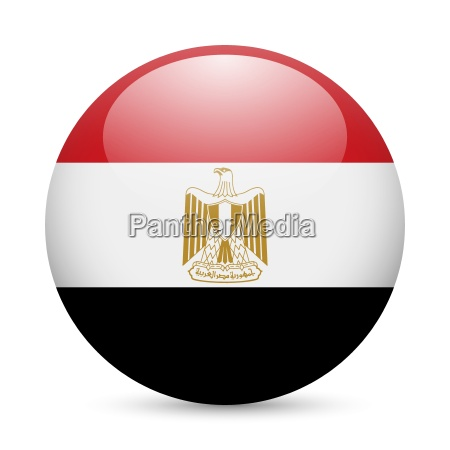 runde glaenzend symbol von aegypten