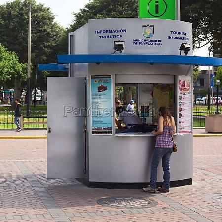 tourist information in miraflores lima peru