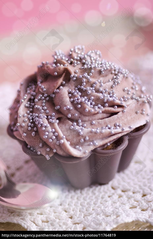 Cupcake Geburtstag Muffin Lizenzfreies Bild 11764819